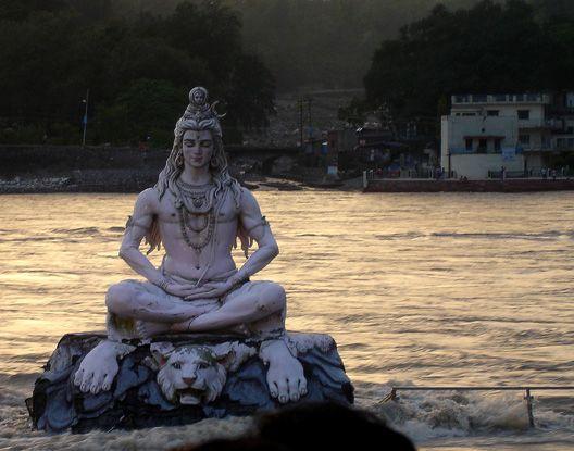 Shiva en en Ganges