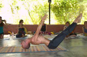 Practicing Ashtanga Vinyasa Yoga