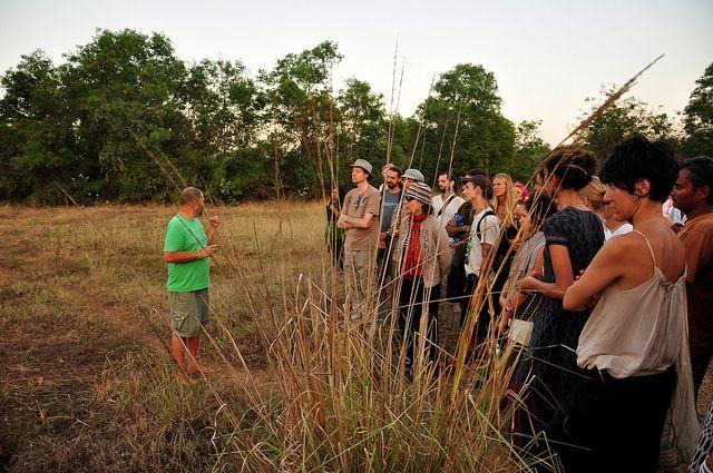 Aviram en Sadhana Forest