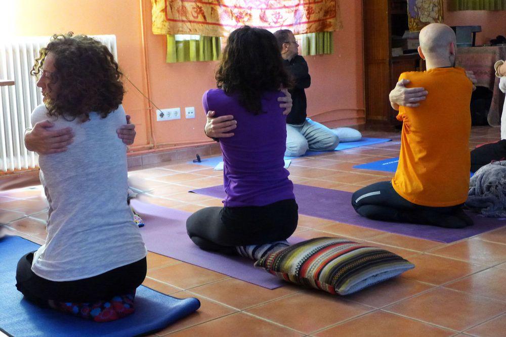 Vacaciones de Yoga en Cazorla. Masaje