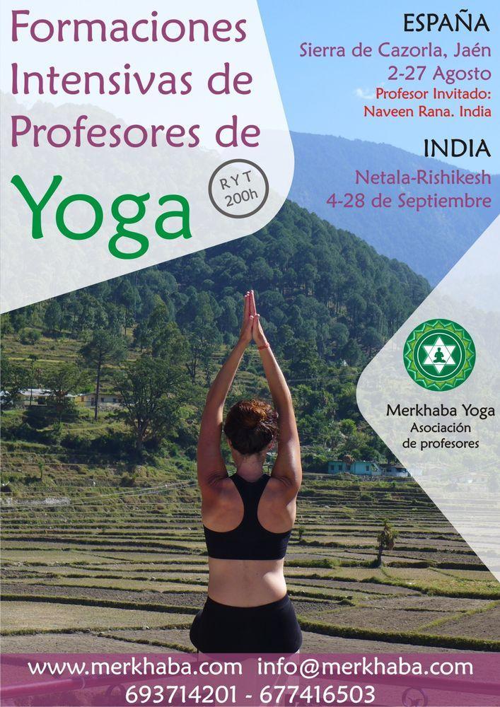Formación intensiva de profesores de yoga 2015