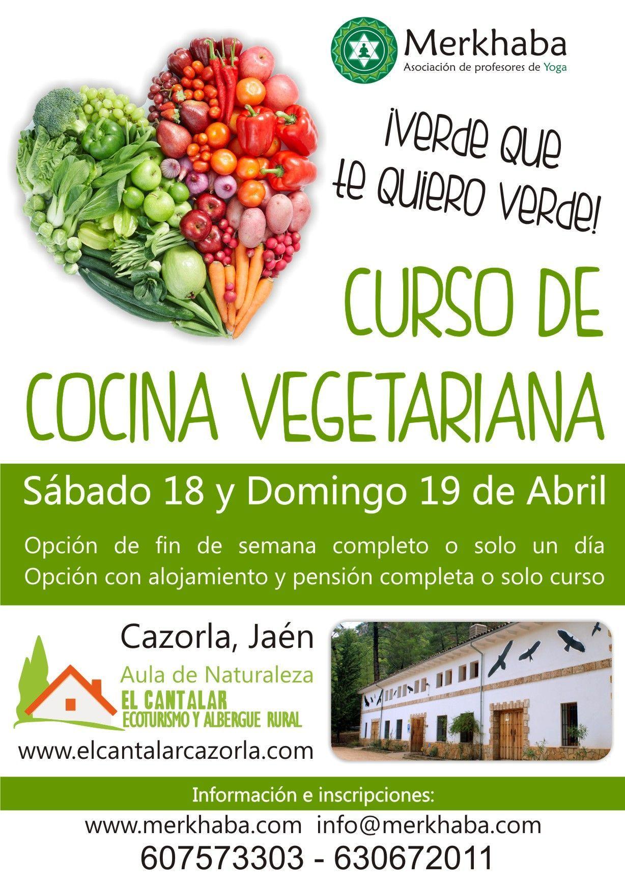 Curso de cocina vegetariana en sierra de cazorla ja n - Escuela de cocina vegetariana ...