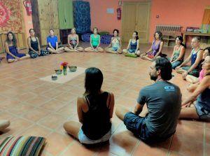 Formaciones anuales de Yoga. Merkhaba