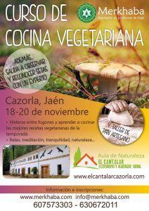 Curso cocina vegetariana en cazorla jaen 19 y 20 de - Curso de cocina vegetariana ...