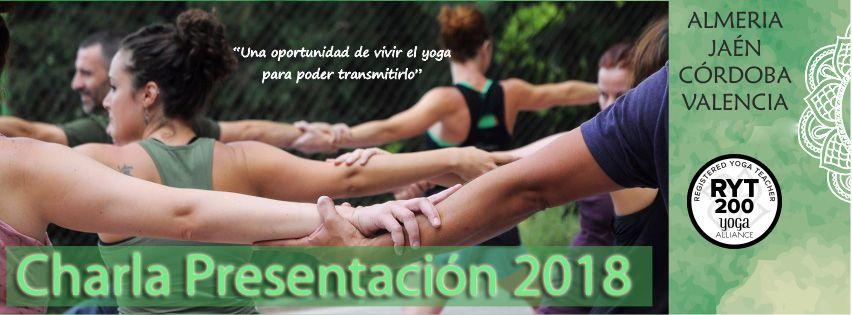 charlas sobre formación de profesores de yoga 2018